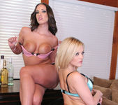 Threesome with Alexis Texas and Kelly Divine 8