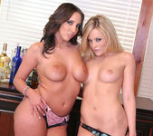 Threesome with Alexis Texas and Kelly Divine 24