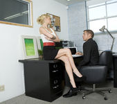 Monique Alexander Shows Office Sluts How it's Done 2