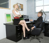 Monique Alexander Shows Office Sluts How it's Done 3