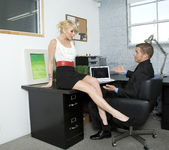 Monique Alexander Shows Office Sluts How it's Done 4