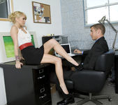 Monique Alexander Shows Office Sluts How it's Done 5