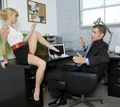 Monique Alexander Shows Office Sluts How it's Done 6