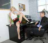 Monique Alexander Shows Office Sluts How it's Done 7