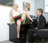 Monique Alexander Shows Office Sluts How it's Done 8