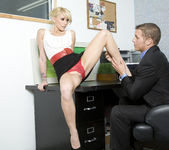 Monique Alexander Shows Office Sluts How it's Done 9