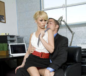 Monique Alexander Shows Office Sluts How it's Done 10