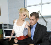 Monique Alexander Shows Office Sluts How it's Done 11