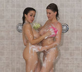 Sara Stone and Chavon Taylor - Pornstar Shower Time 4