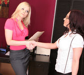 Alexis Texas and Zoe Britton - Sex at the Home Office 3