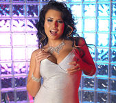Eva Angelina Strips a White Dress and Masturbates 3