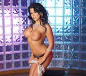 Eva Angelina Strips a White Dress and Masturbates 12