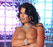 Eva Angelina Strips a White Dress and Masturbates 17