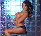 Eva Angelina Strips a White Dress and Masturbates 20