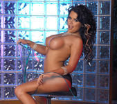 Eva Angelina Strips a White Dress and Masturbates 21