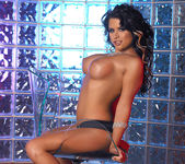 Eva Angelina Strips a White Dress and Masturbates 22
