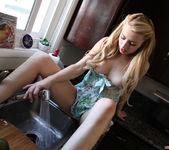 Lexi Belle Masturbating In the Kitchen Window 26