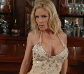 Diamond Foxxx Gets Naked at the Bar 8