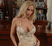 Diamond Foxxx Gets Naked at the Bar 9