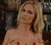Diamond Foxxx Gets Naked at the Bar 12