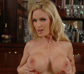 Diamond Foxxx Gets Naked at the Bar 13