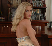 Diamond Foxxx Gets Naked at the Bar 16