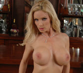 Diamond Foxxx Gets Naked at the Bar 18
