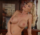 Diamond Foxxx Gets Naked at the Bar 21