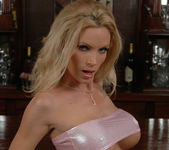 Diamond Foxxx Spotlights Her Big Breasts with a Tease 3