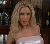 Diamond Foxxx Spotlights Her Big Breasts with a Tease 13