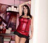 Brandy Talore Stripping and Forced to Tease Herself 3