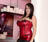 Brandy Talore Stripping and Forced to Tease Herself 5