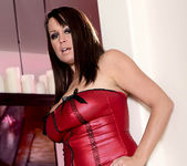 Brandy Talore Stripping and Forced to Tease Herself 9