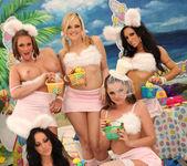 Breanne Benson's Holiday Group Sex Sneak Peek 8