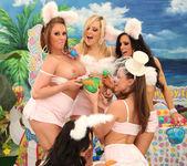 Breanne Benson's Holiday Group Sex Sneak Peek 16