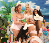Breanne Benson's Holiday Group Sex Sneak Peek 17