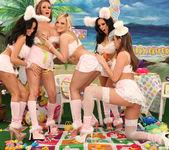 Breanne Benson's Holiday Group Sex Sneak Peek 27
