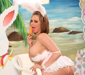 Tory Lane is the Curviest Easter Bunny 14