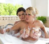 Brandy Talore and Sara Stone in the Bubble Bath 14