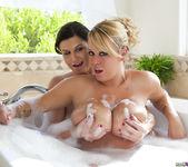 Brandy Talore and Sara Stone in the Bubble Bath 15