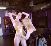 Nina Hartley Gets a Visit from Anastasia Pierce 3