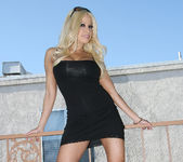 Gina Lynn Naked In Gorgeous Weather 7