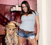 Brandy Talore and Amy Brooke - Horny Cowgirl Pornstars 6
