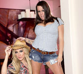 Brandy Talore and Amy Brooke - Horny Cowgirl Pornstars 7