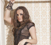 Tori Black Imagines Being Found Bottomless and Tied Up 4