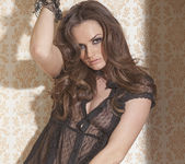 Tori Black Imagines Being Found Bottomless and Tied Up 17