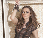Tori Black Imagines Being Found Bottomless and Tied Up 20