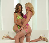 Jenna Haze and Monique Alexander 69ing 2