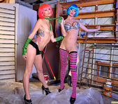 Monique Alexander and Jessica Sweet - Punk Pussy Play 2