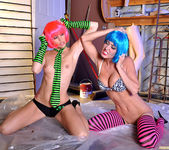 Monique Alexander and Jessica Sweet - Punk Pussy Play 18
